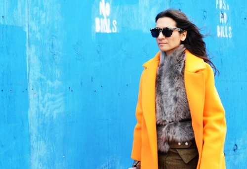 YELLOW-JACKET-TOMMY-TON-STYLE.COM-FASHION-WEEK-STREET-STYLE-ELIZABETH-CABRAL-2